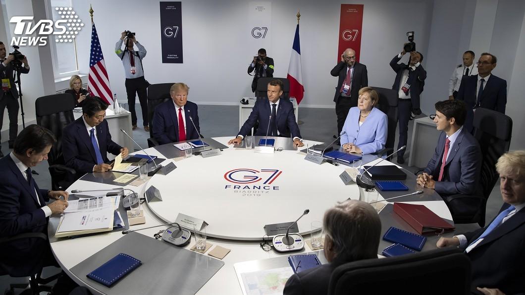 圖/達志影像美聯社 G7落幕挺香港 強調「中英聯合聲明」存在且重要
