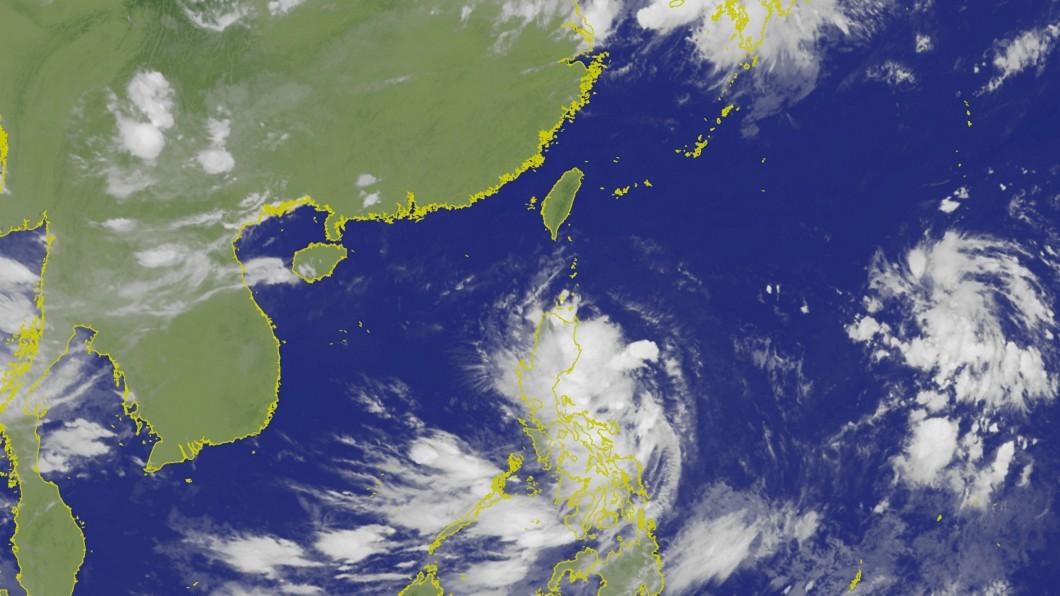 圖/中央氣象局 第12號颱風「楊柳」生成 對台無直接影響