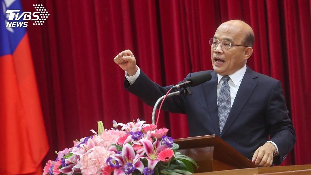 圖/中央社 遭指「黑韓大將」 蘇貞昌:我現在正在鼓勵他