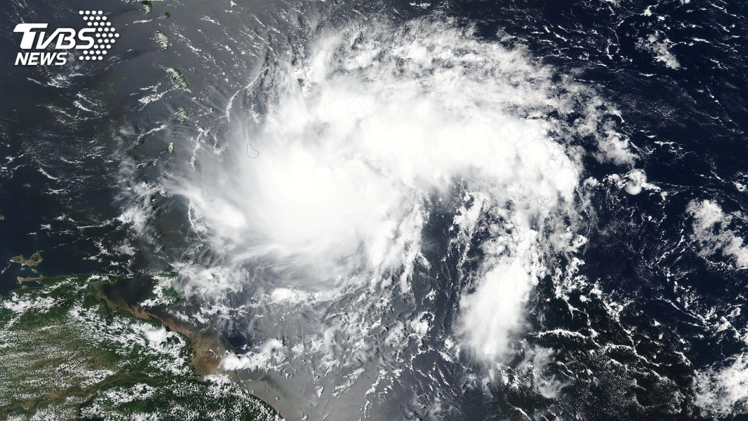圖/達志影像路透社 熱帶氣旋多利安來勢洶洶! 加勒比海各國提高警戒