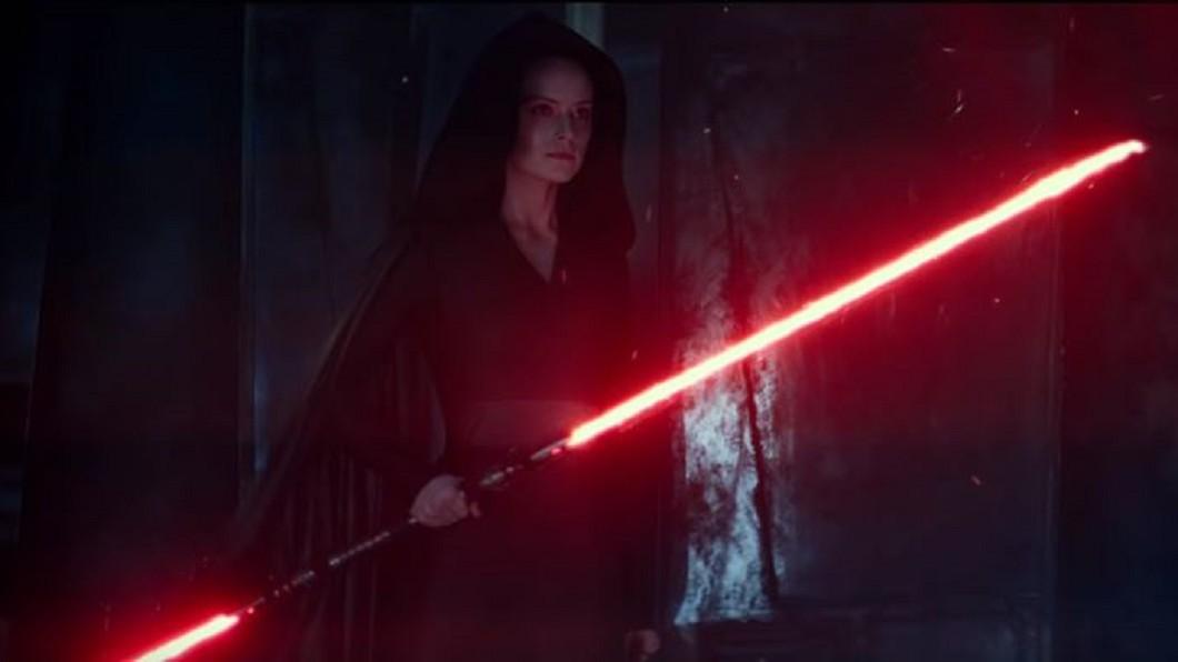 圖/翻攝自Star Wars YouTube 《星戰》最終回! 《天行者的崛起》芮疑黑化
