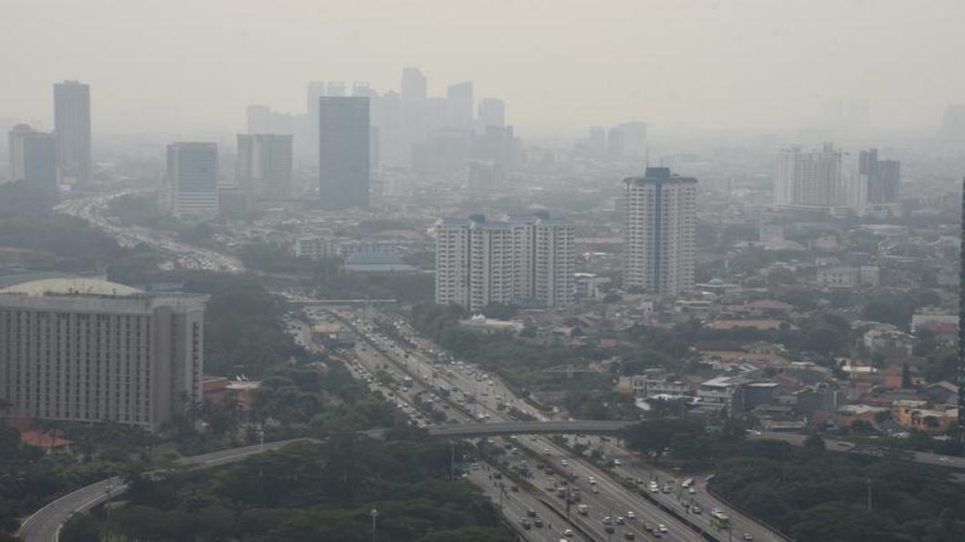 圖/達志影像路透 雅加達沉沒危機 印尼總統宣布遷都
