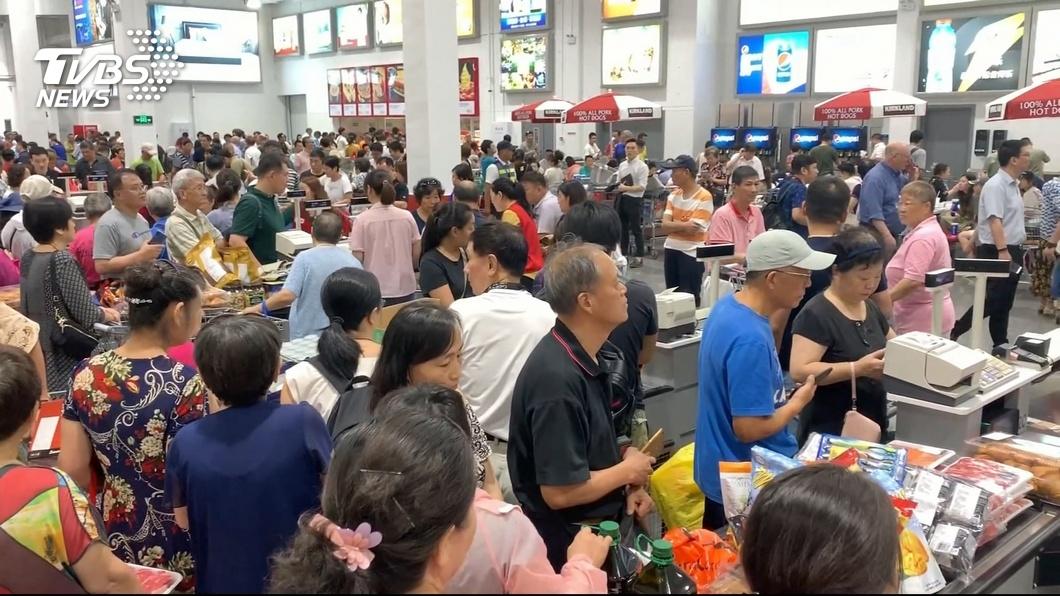 圖/TVBS 上海好市多開店消費者爆買 崔天凱:中美互惠互利