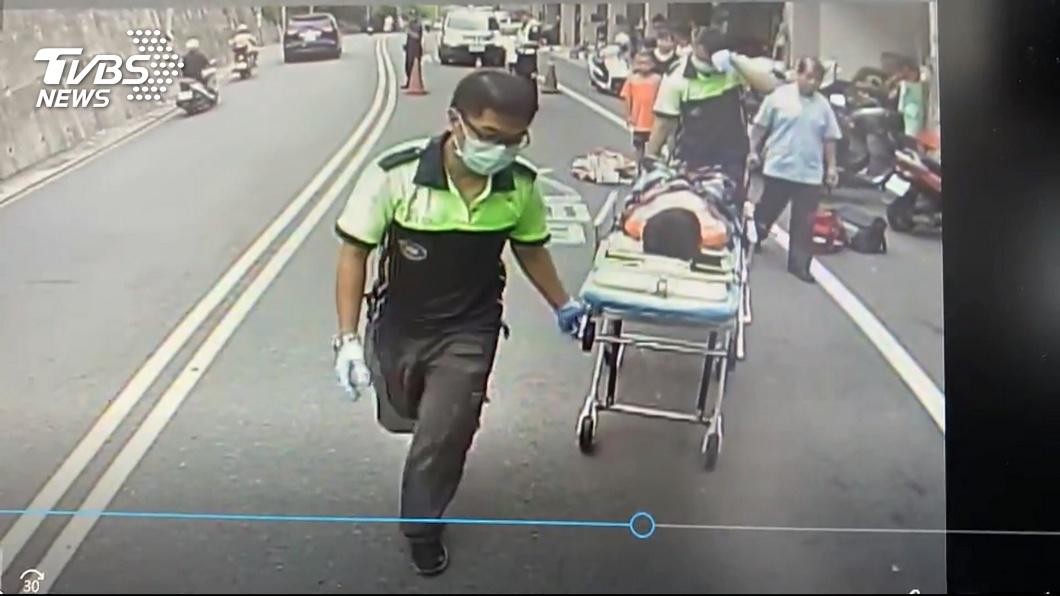 圖/TVBS 惡劣!10歲男童繞道遭撞 肇事駕駛落跑