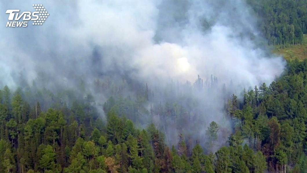 圖/達志影像美聯社 西伯利亞野火延燒 吞噬逾40萬公頃林地