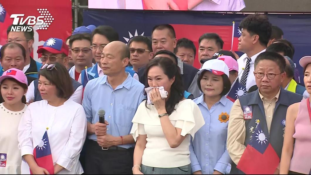 高雄市長李佳芬日前接受媒體專訪時落淚表示,如果能重來我會勸韓國瑜別重返政壇。(示意圖/TVBS) 如能重來…勸韓國瑜別重返政壇 李佳芬落淚:我會說NO