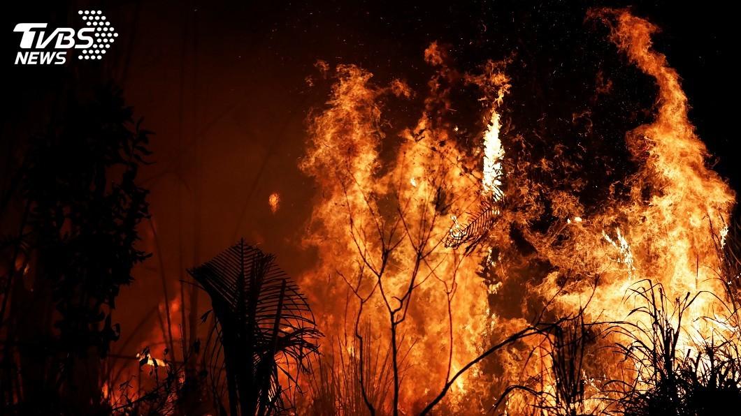 圖/達志影像路透社 滅亞馬遜林火 巴西歡迎外援但需由巴西運用援金