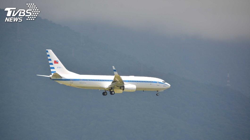 圖/中央社 華航:檢修總統專機發電機 從未提購新品