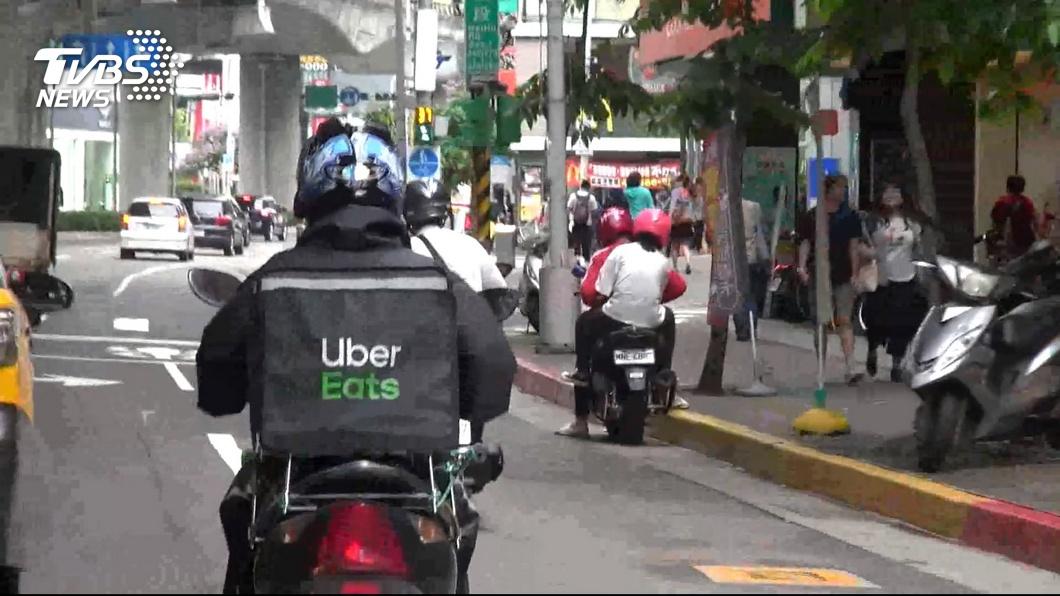 示意圖/TVBS 不限時段次數 Uber Eats9月「免費外送」