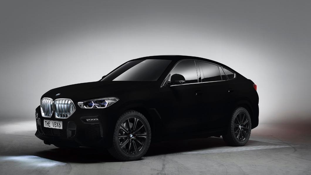 圖/翻攝自 BMW Group 「吸光黑」更吸睛! BMW推出X6奈米黑色