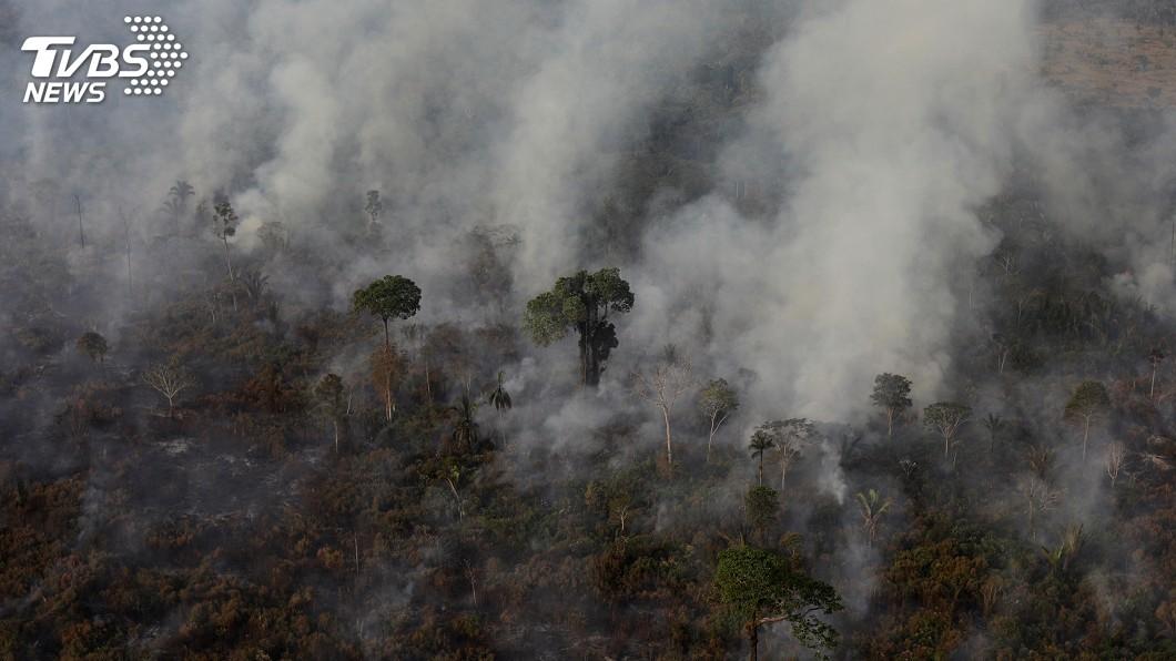 圖/達志影像路透社 亞馬遜大火延燒! 巴西頒布60天放火整地禁令