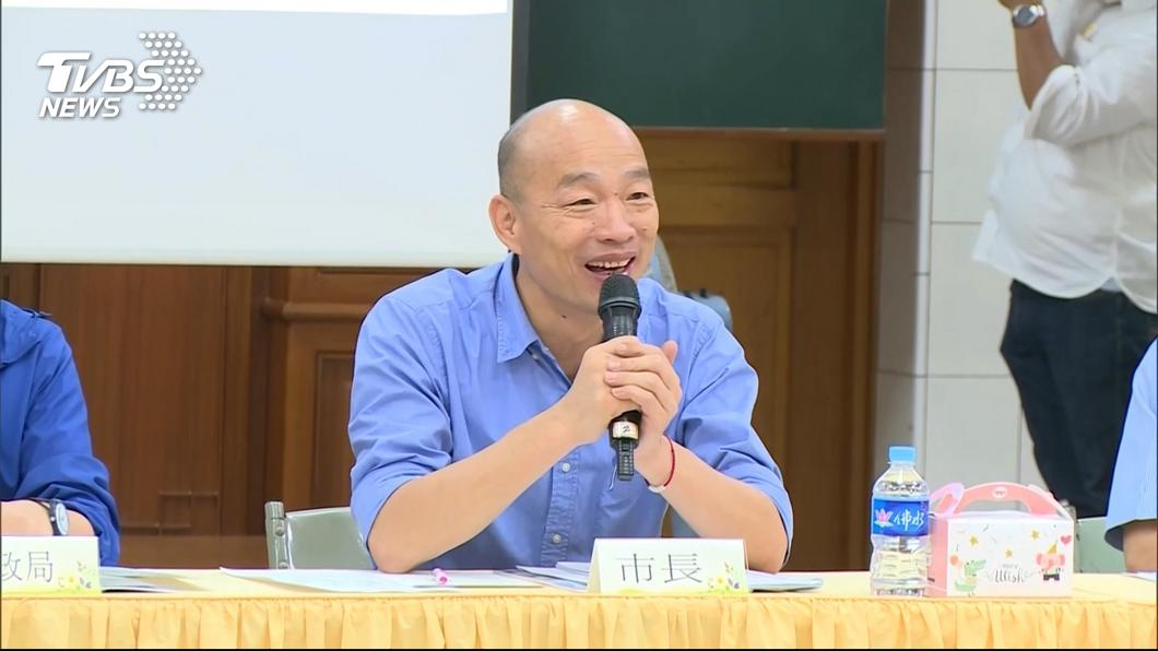 圖/TVBS資料畫面 難怪隨扈哭一團!他初見韓國瑜 讚暖男揭私下真實面