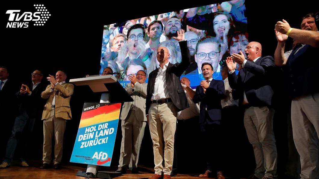 圖/達志影像路透社 德國兩邦選舉 出口民調:另類選擇黨成第2大黨