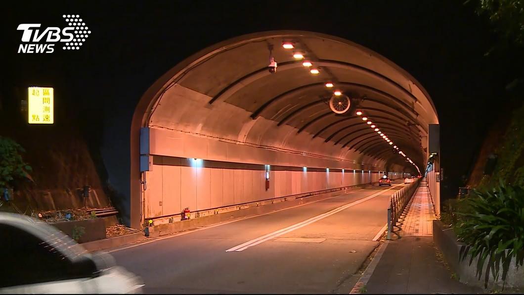 圖/TVBS 北市自強隧道實施「區間測速」 上路後未釀事故