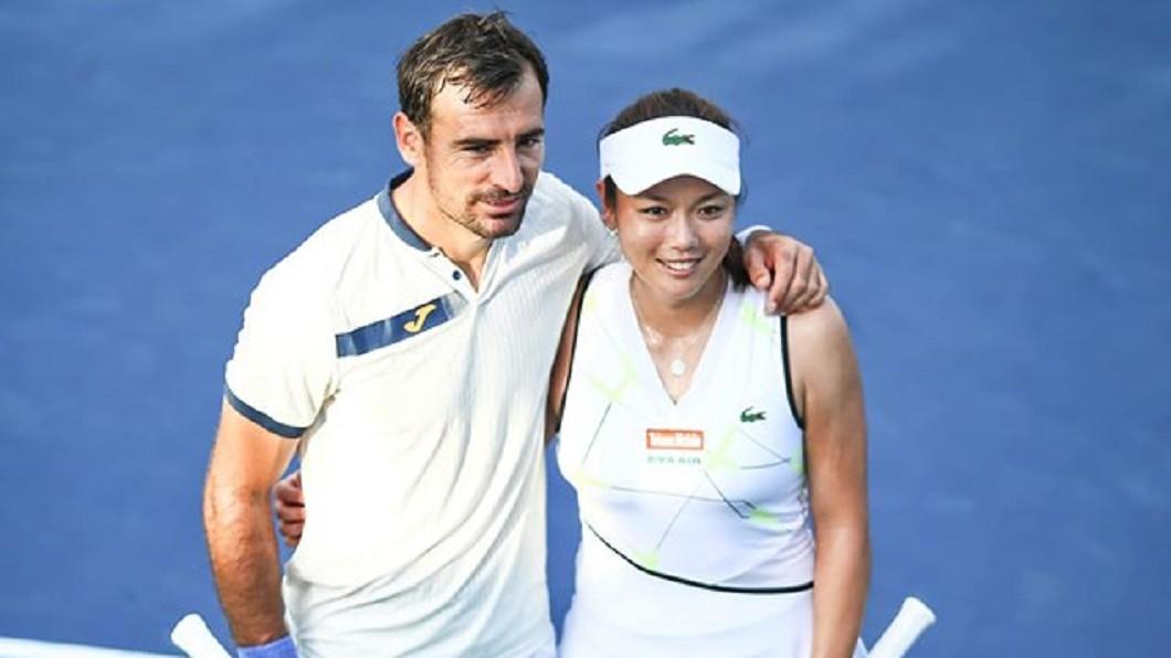 圖/翻攝自詹詠然 Latisha Chan臉書 美國網球公開賽 詹詠然混雙挺進8強