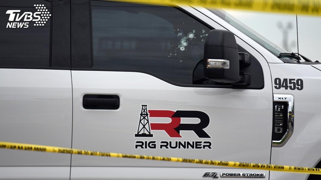 圖/達志影像路透社 德州槍擊案7死 凶嫌案發前被卡車公司解雇