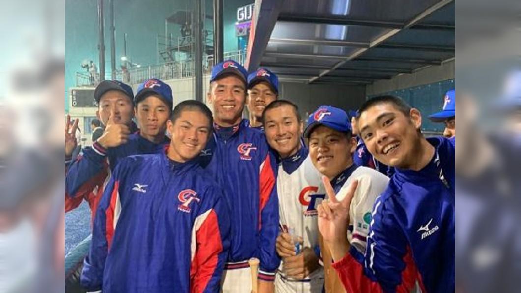 圖/翻攝自 中華民國棒球協會粉絲團 U18世界盃捷報 中華隊3:1射日晉級6強