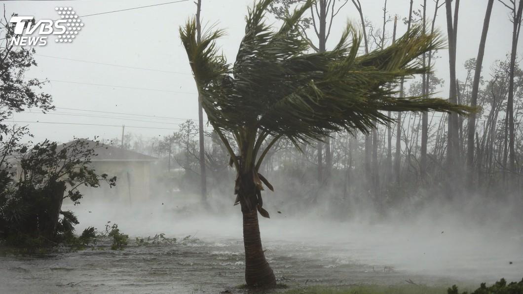 圖/達志影像美聯社 颶風多利安在巴哈馬釀5死 美國撤離東岸人員