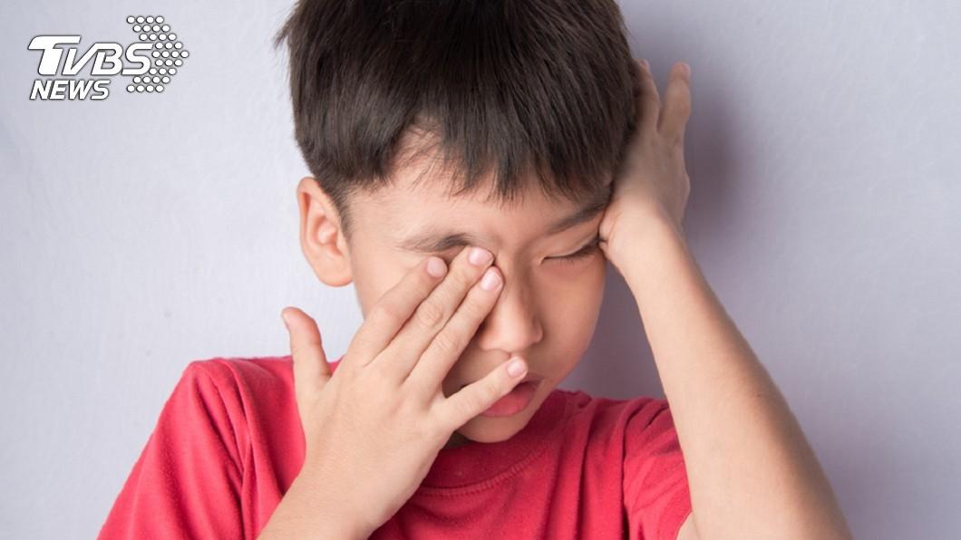 非當事人。示意圖/TVBS 男童眼竄「6條噁蟲」!醫驚:常人不該有…揭染病關鍵