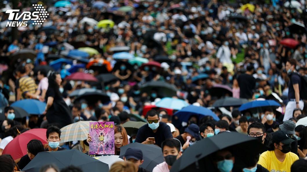 圖/達志影像路透社 港澳辦:示威已變質 目的在奪取香港管治權