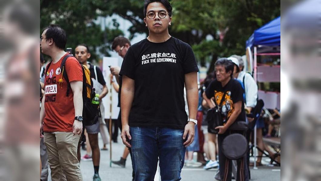 圖/翻攝自 林朗彥 Ivan Lam 臉書 涉煽惑非法集結 香港眾志主席入境被捕