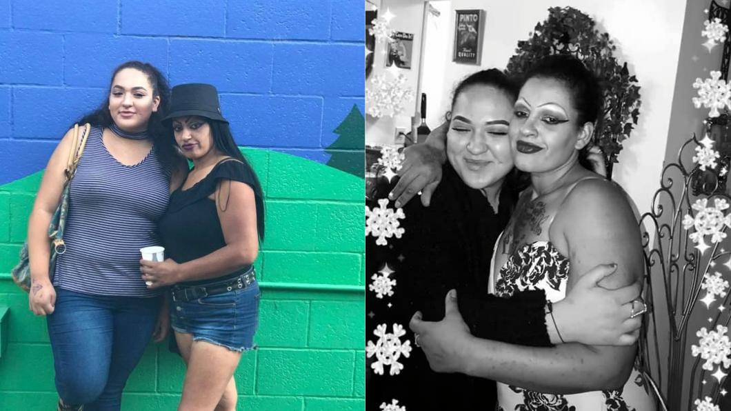 左邊的才是真正21歲的女兒。圖/翻攝自Cedes Garcia 臉書