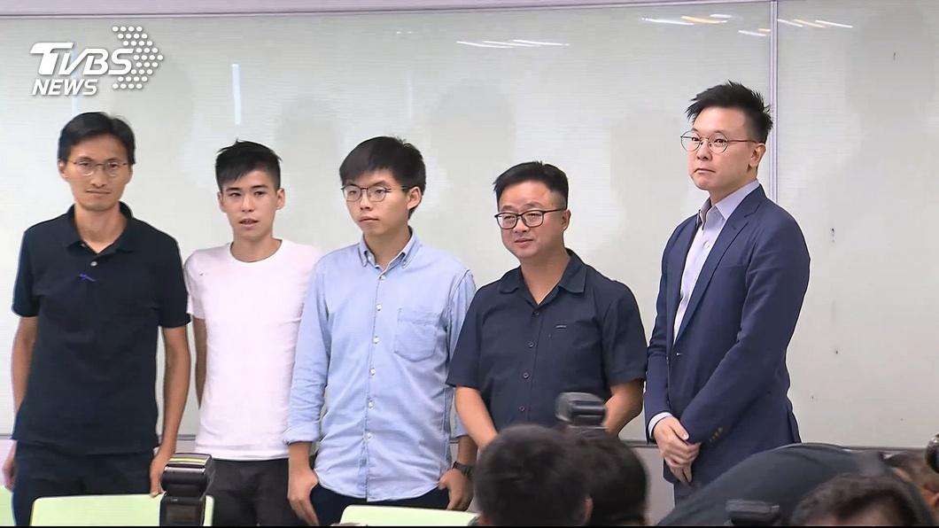 圖/TVBS 藍委提醒黃之鋒別被騙 綠委:噴口水沒意義