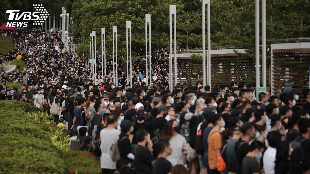 圖/達志影像美聯社 香港政治危機數月未解 北京籌謀對策軟硬兩難