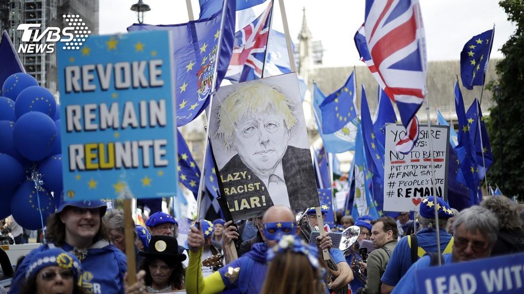 圖/達志影像美聯社 英國會緊急辯論阻硬脫歐 保守黨議員變節