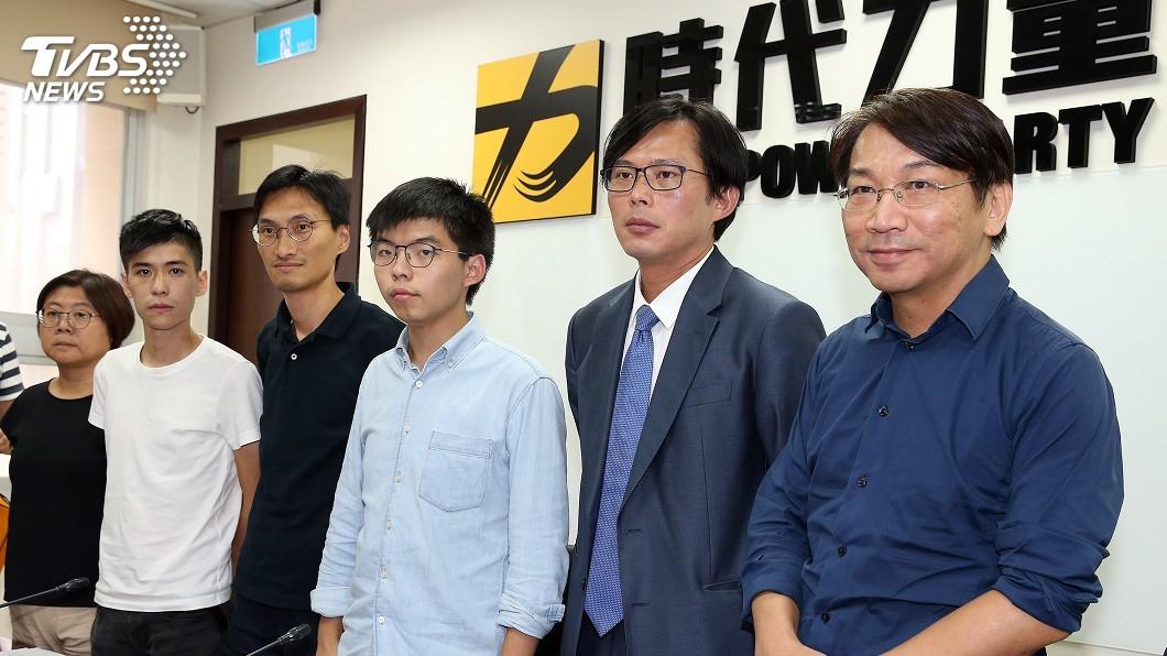 圖/中央社 時力盼立院發朝野共同聲明 支持香港爭民主