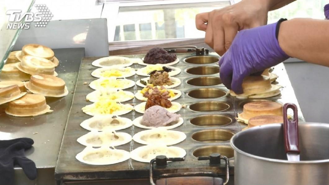 車輪餅。示意圖/TVBS 奶油車輪餅最容易踩雷?鄉民激辯:這口味才雷