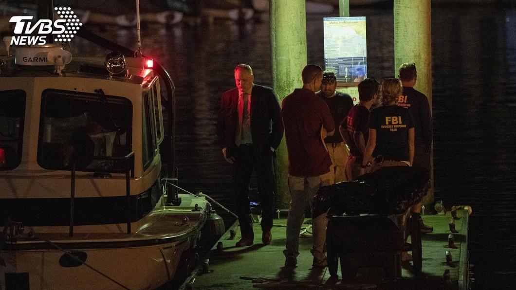 圖/達志影像美聯社 南加州外海潛水船沉沒 14人失蹤生機渺茫