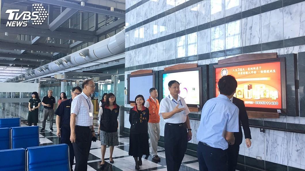 圖/中央社 花蓮爭取韓國直航 敲定10月中每週3班往返