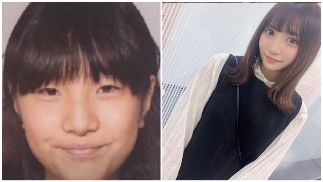 日本1名粉絲先前因長相遭偶像嫌棄,她憤而整型成為超級大正妹。(圖/翻攝自推特和IG合成) 遭嫌醜無視…女粉整容成正妹大復仇 偶像上鉤被搞垮