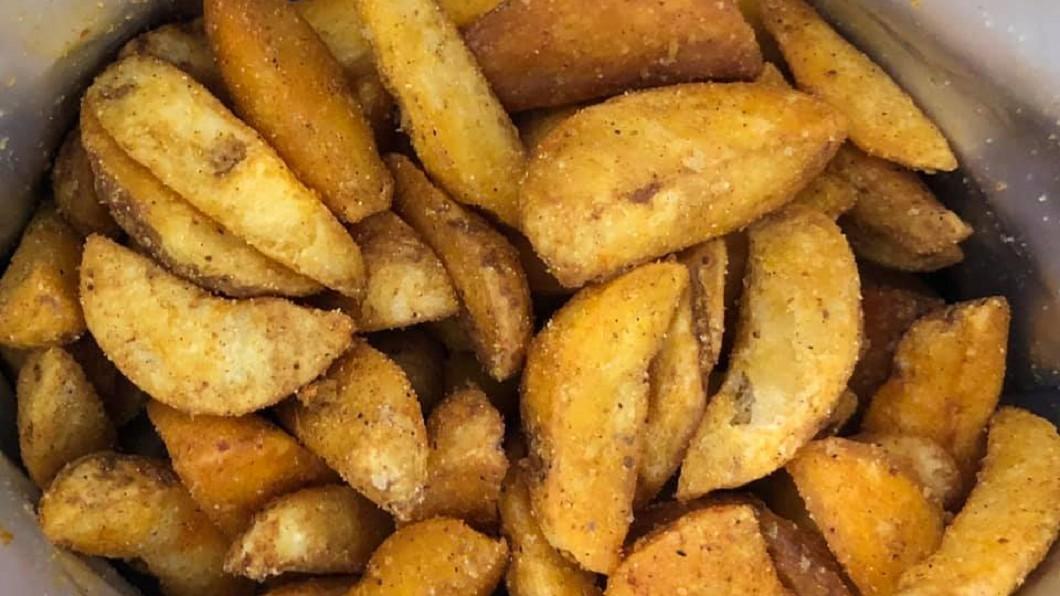 網友激推薯好市多新品引發討論。圖/翻攝至臉書社團「Costco好市多商品經驗老實說」 網友激推好市多薯塊新品 他曝新吃法網熱議