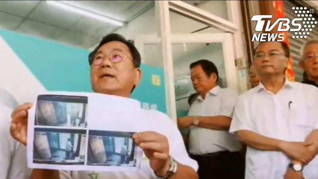圖/TVBS 曬出照片「錢從家裡帶出來」 陳明文:抹黑、誣指將提告