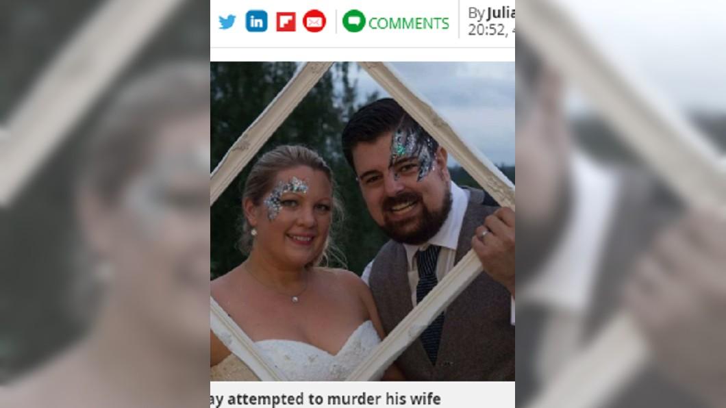英國一名丈夫拿刀傷害妻子。 圖/翻攝至《每日鏡報》 丈夫送「驚」喜 妻以為是牠結果被刀捅