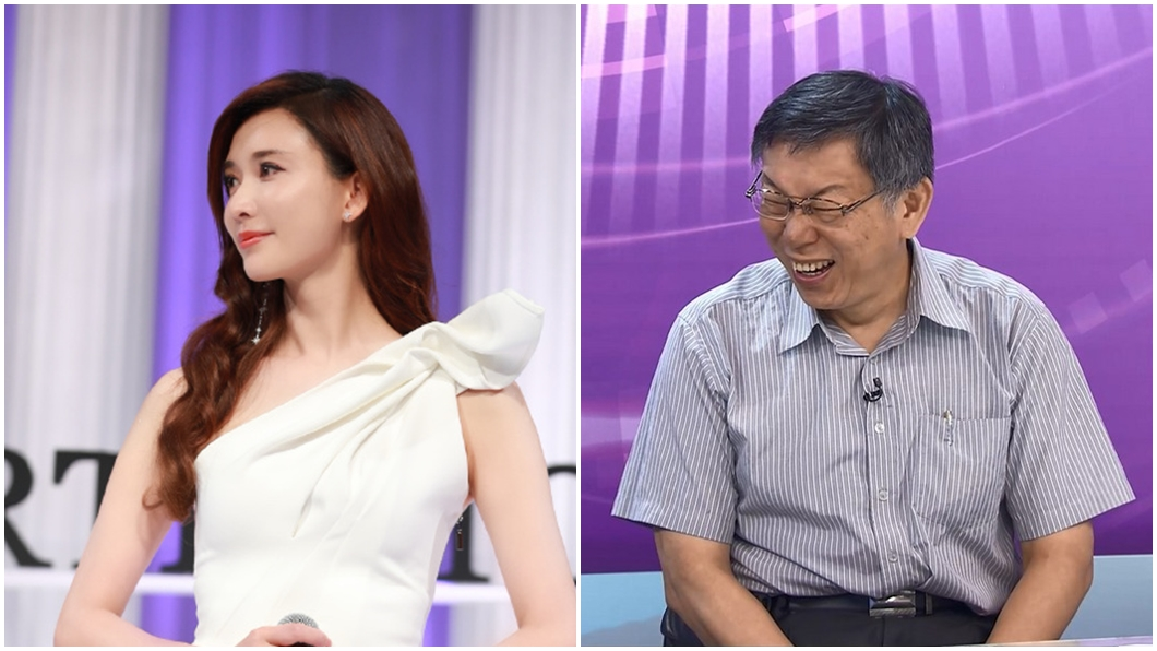 圖/翻攝自林志玲工作室微博、TVBS資料照 說溜嘴?爆林志玲懷孕 柯文哲:誰講的記不得