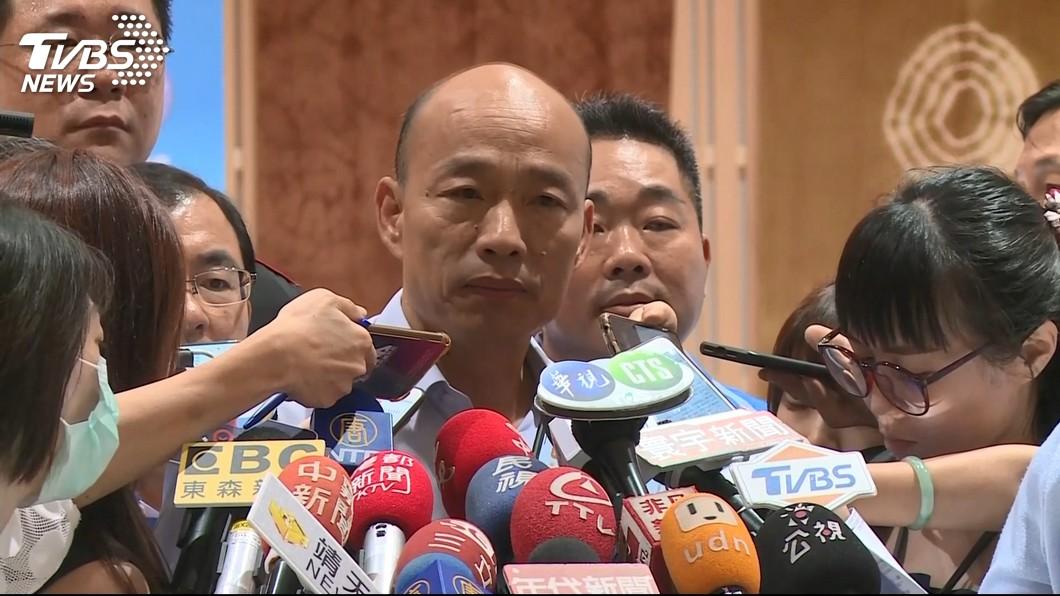 韓國瑜宣布參選後,又一資深女星公開力挺。 圖/TVBS 2020返台支持! 女星曝:全家都韓粉