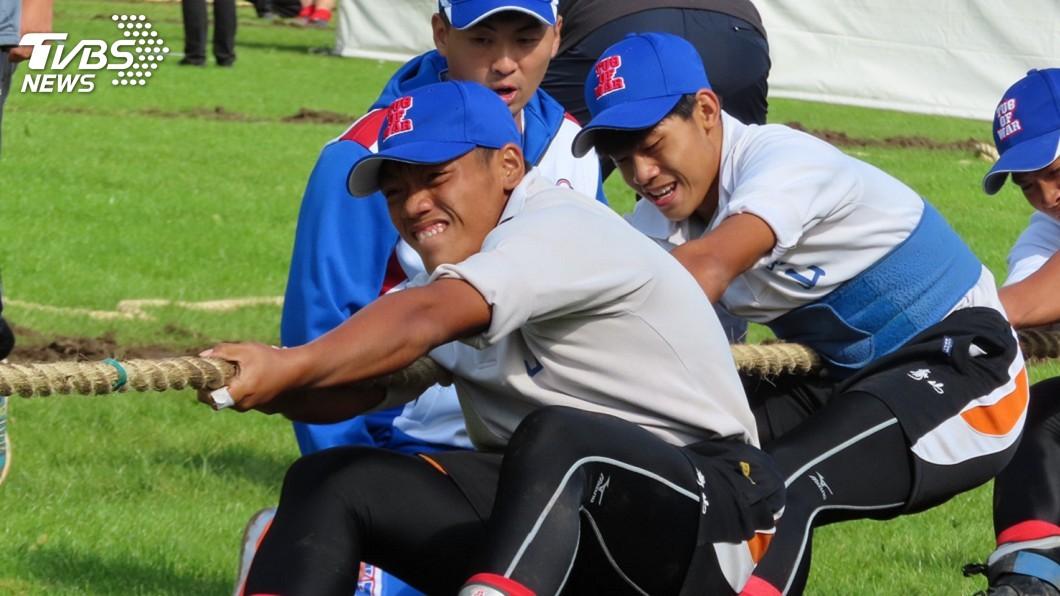 圖/中華拔河協會提供 拔河世青少男子560公斤組 中華小將鍍銅