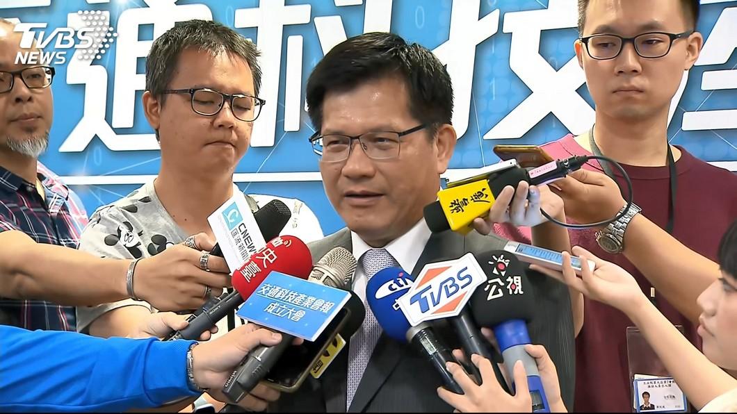 圖/TVBS資料畫面 韓國瑜稱民調倒數找前任 林佳龍:應認真面對
