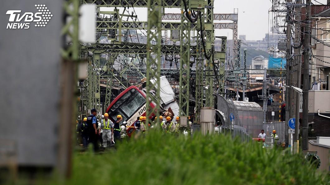 圖/達志影像路透社 日本京急線事故 凸顯首都圈平交道數量多風險