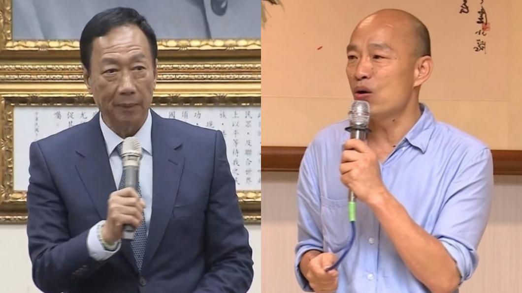 TVBS/資料畫面 潘質疑選舉經費來源 郭營嗆:苦幹實幹賺來的!