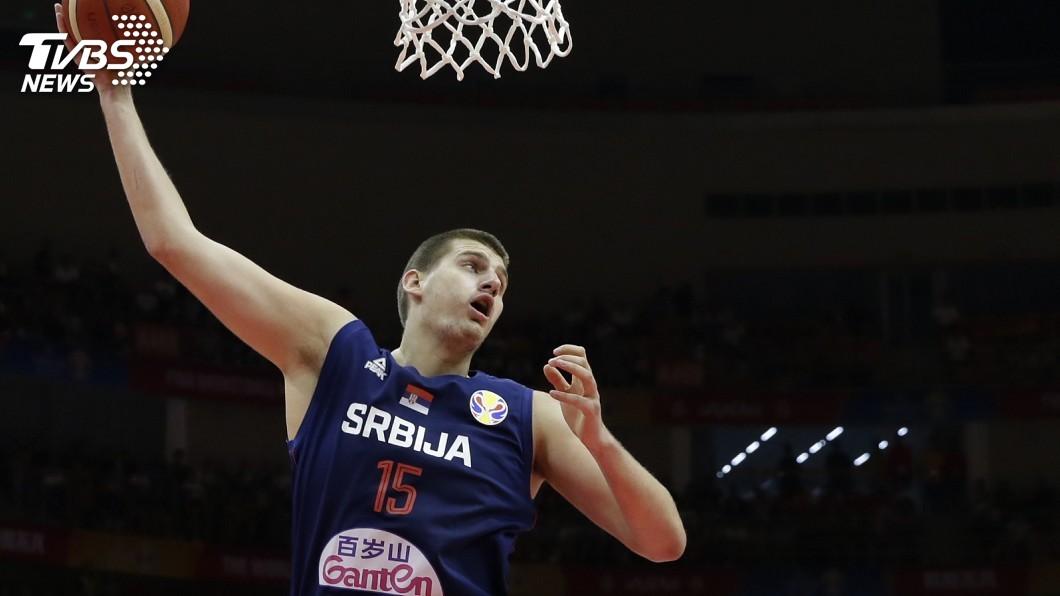 圖/達志影像路透社 世界盃男籃賽 約基奇遭驅逐塞爾維亞不敵西班牙