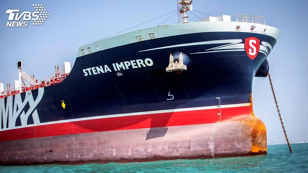 圖/達志影像路透社 伊朗政府聲稱 近日可望釋放遭扣英國油輪