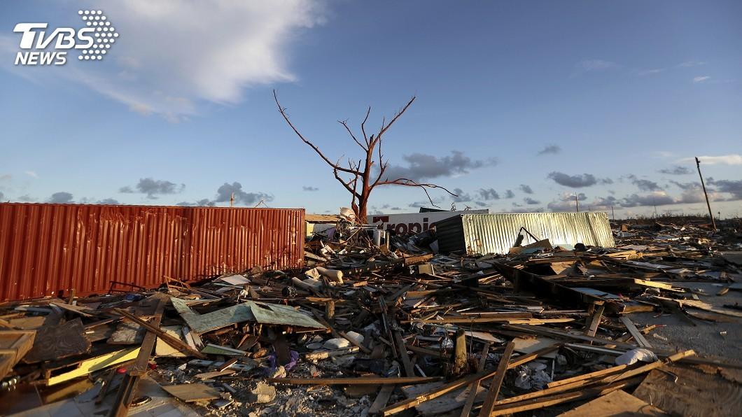 圖/達志影像美聯社 颶風多利安襲巴哈馬43死 災民流離失所苦不堪言