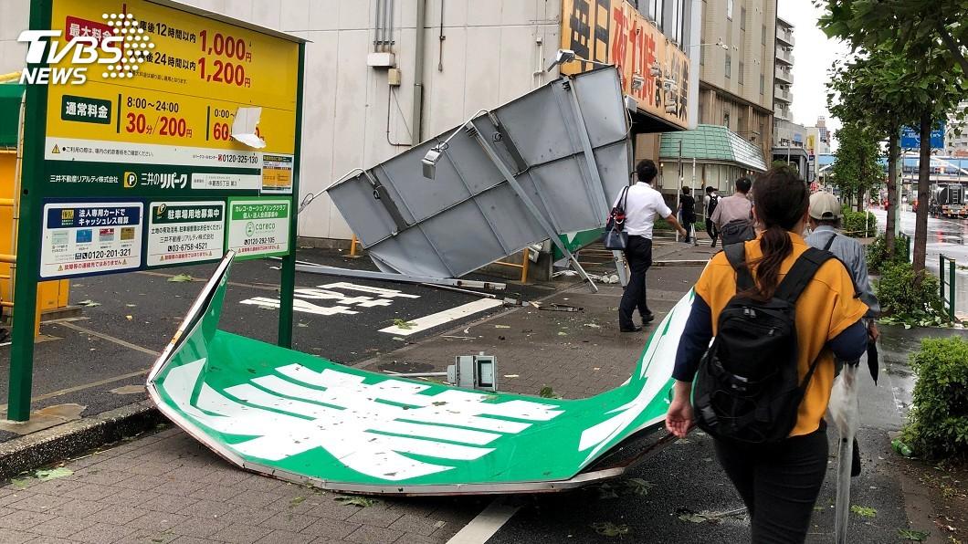 圖/達志影像路透社 日本關東逾93萬戶停電 311大地震後最大規模