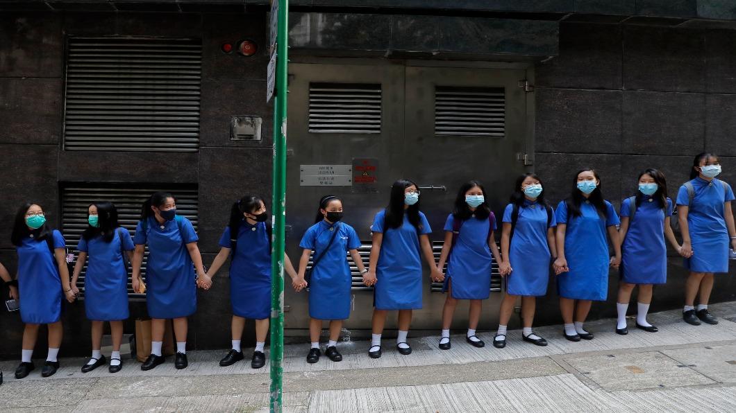 圖/達志影像美聯社 從反送中到真普選 港人籲美通過《港人權民主法》
