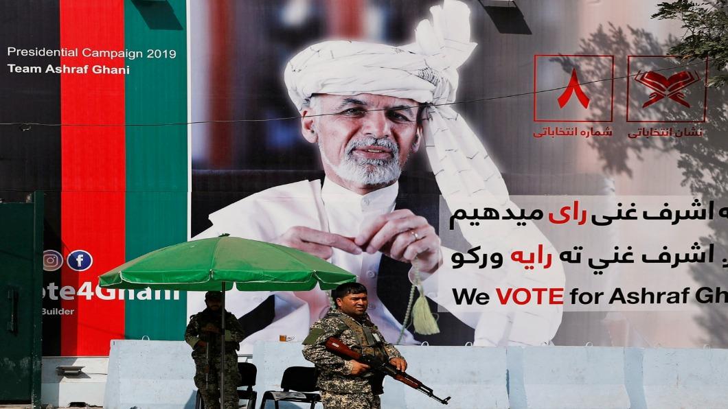 圖/達志影像路透 阿富汗塔利班領袖會川普!驚天一見破局