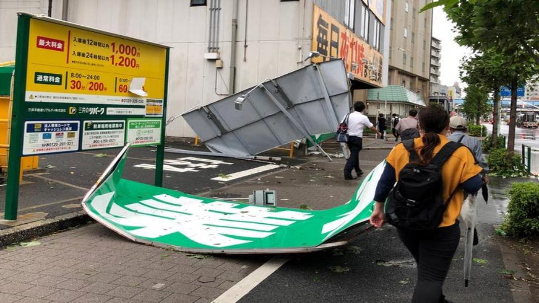 圖/達志影像路透 強颱襲東北亞 日本.南北韓災情慘重